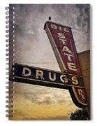 Big State Drugs Irving Spiral Notebook
