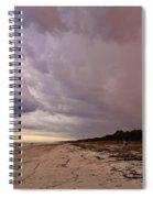 Big Storm Coming Spiral Notebook