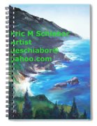 Big Sur Califorina Spiral Notebook