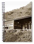 Big Sur Hot Springs Now The Esalen Institute California Circa 1961 Spiral Notebook