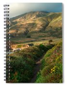 Big Sur Trail At Soberanes Point Spiral Notebook