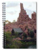 Big Thunder Mountain Spiral Notebook