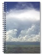 Big Thunderstorm Over The Bay Spiral Notebook
