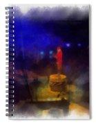 Big Top Ladies And Gentleman Photo Art Spiral Notebook