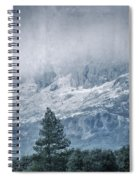 Big Tree At The Mountains Spiral Notebook