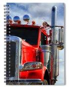 Big Trucks Spiral Notebook