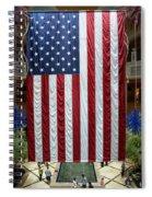 Big Usa Flag 2 Spiral Notebook