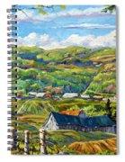 Big Valley By Prankearts Spiral Notebook