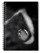 Big Yawn From This Monkey Spiral Notebook