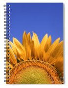 Big Yellow Spiral Notebook