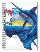 Bigger In Texas Spiral Notebook
