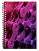 Bike Chain Spiral Notebook