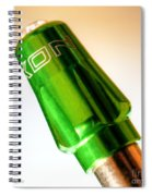 Bike Designer Tire Valve Cap Spiral Notebook