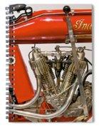 Bike - Motorcycle - Indian Motorcycle Engine Spiral Notebook