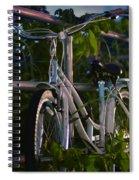 Bike Noir Spiral Notebook