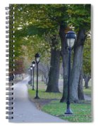 Bike Path Along Kelly Drive Spiral Notebook