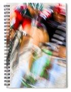 Bike Race I Spiral Notebook
