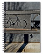 Bike Rack Spiral Notebook