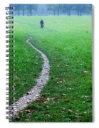 Bike Ride Spiral Notebook