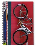Bike Shop Spiral Notebook