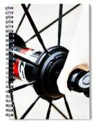 Bike Spokes Spiral Notebook