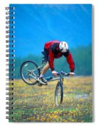 Bike Stunt Spiral Notebook