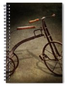 Bike - The Tricycle  Spiral Notebook