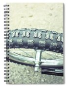 Bike Tyre Spiral Notebook