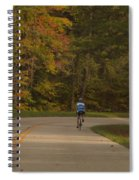 Biking In The Smoky Mountains Spiral Notebook