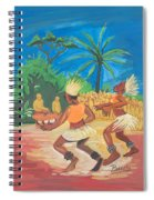 Bikutsi Dance 2 From Cameroon Spiral Notebook