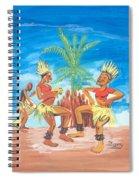 Bikutsi Dance 3 From Cameroon Spiral Notebook