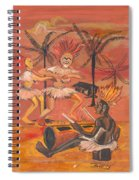 Bikutsi Dance From Cameroon Spiral Notebook