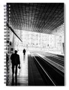 Bilbao Train Station Spiral Notebook