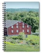 Bilgerville Road Farm  7d02271 Spiral Notebook