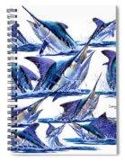 Bill Heads Spiral Notebook