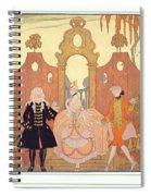 'billet Doux' Spiral Notebook