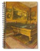 Billiard Room At Menil-hubert Spiral Notebook
