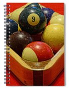 Billiards - 9 Ball - Pool Table - Nine Ball Spiral Notebook