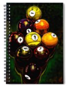 Billiards Art - Your Break 6 Spiral Notebook