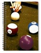 Billiards Art - Your Break -art 8 Spiral Notebook