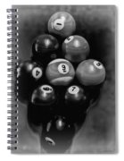 Billiards Art - Your Break - Bw  Spiral Notebook