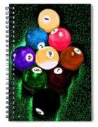 Billiards Art - Your Break Spiral Notebook