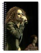 Billie Myers Spiral Notebook