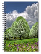 Billows Spiral Notebook