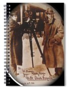 Billy Bitzer D.w. Griffith Pathe Camera Way Down East 1920-2013 Spiral Notebook
