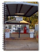 Billy Carters Old Service Station In Plains Georgia Spiral Notebook