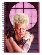Billy Idol Spiral Notebook