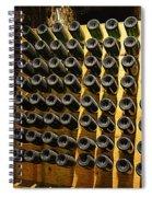 Biltmore Estate Wine Cellar -stored Wine Bottles Spiral Notebook