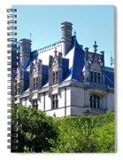Biltmore House In Summer Spiral Notebook