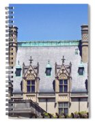 Biltmore House Roof Spiral Notebook